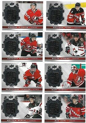 2017-18 Ud Canadian Tire Team Canada  Heir To The Ice Complete Your Set U Pick
