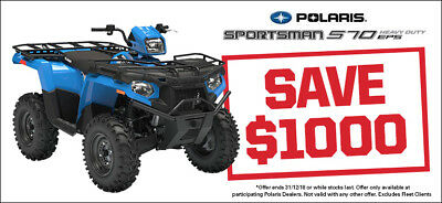 NEW 2018 Polaris Sportsman 570