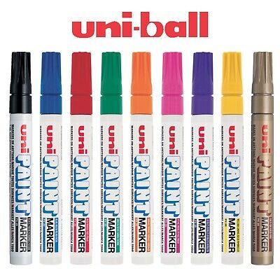 UNI UniBall PX-20 Oil Base Paint Marker Bullet Tip Medium Point (2.2-2.8mm)