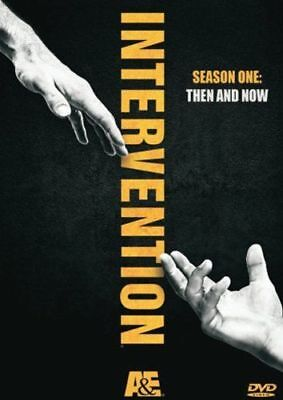Intervention TV Series First Season 1 One Complete Then And Now DVD Set Episodes
