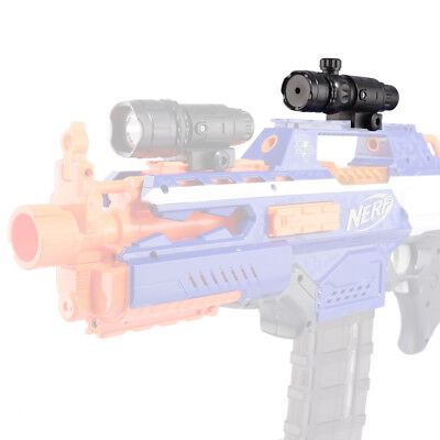 Quality Plastic Tactical Plastic Adjustable Red Lamp Light for Nerf -Black