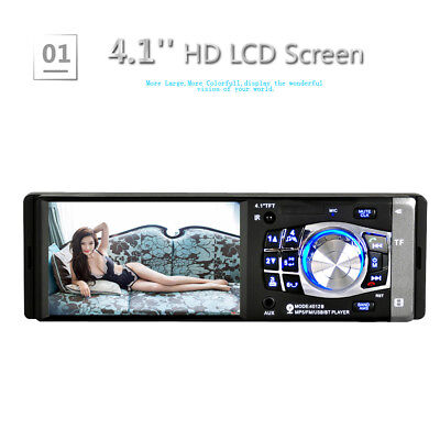 "7"" 2 DIN Autoradio Car DVD Player Touch Audio Stereo USB AUX-IN MP3 BT TF/FM IT"