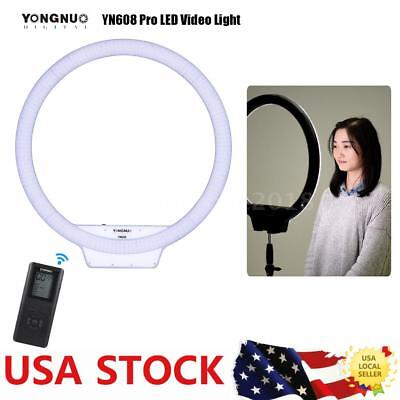 YONGNUO YN608 NEW 5500K LED Ring Video Light Lighting Lamp with Remote Control