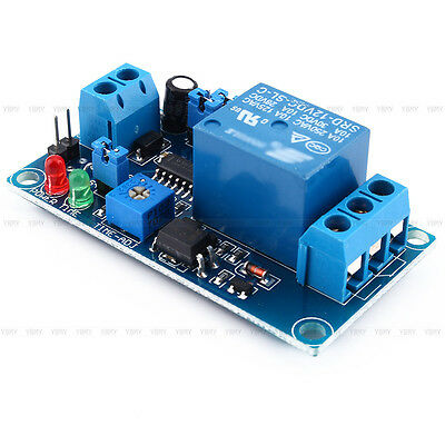 12V DC Relay Switch Module Trigger Delay Turn on/Turn off Power Delay Circuit