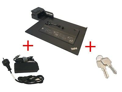 Lenovo ThinkPad Dockingstation Series 3 4338 mit USB 3 Port mit Netzteil + 2Keys