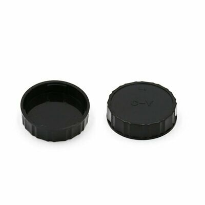 2x Rear Lens cap Cover Protector for Contax Yashica CY C/Y mount lens