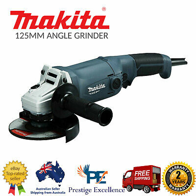 Makita M9002G 240V 125mm 1050W 5 inch MT Series Angle Grinder Corded Power Tools