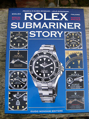 Buch book Rolex Submariner Story