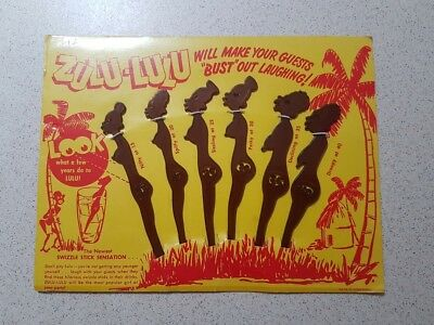 Zulu-Lulu Swizzle Sticks