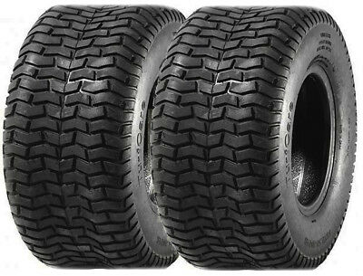 Turf & Grass Tyres 13x6.50-6 (4 Ply) 13x650-6. Pair of Tyres (2x tyres included)