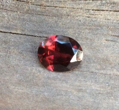 1PC OVAL CUT NATURAL PINK RHODOLITE GARNET 2.37CT 10x8MM FACETED GEMSTONE