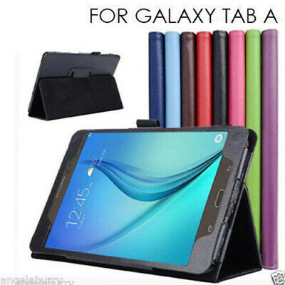 "Samsung Galaxy Tab A 8.0 "" 2017 SM-T380 T385 2017 Smart Leather Case Cover"