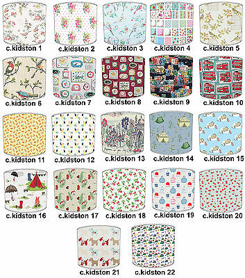 Cath Kidston Designs Lampshades, Ideal To Match Cath Kidston Wallpaper Borders.