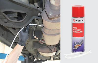 Wurth DPF Diesel Particulate Filter 400ml Cleaner Spray with hose