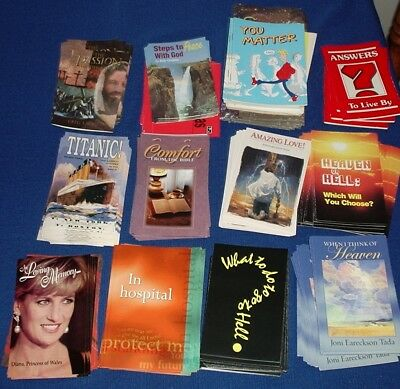 Christian Tracts / booklets - over 500