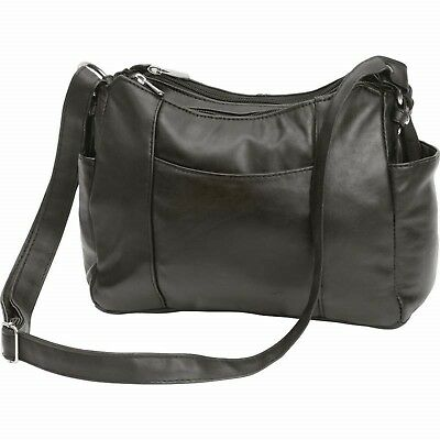 Embassy™ Solid Genuine Lambskin Leather Purse