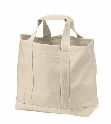Large Cotton Canvas Tote Bag, Zilong Reusable Blank Grocery Bags for Everyday 4