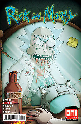 Rick And Morty 35 Mike Vasquez Invincible Iron Man 128 Szechuan Sauce Variant