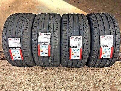 255 35 18 RIKEN MICHELIN MADE NEW TYRES 255/35ZR18 94W AMAZING C, C  Ratings