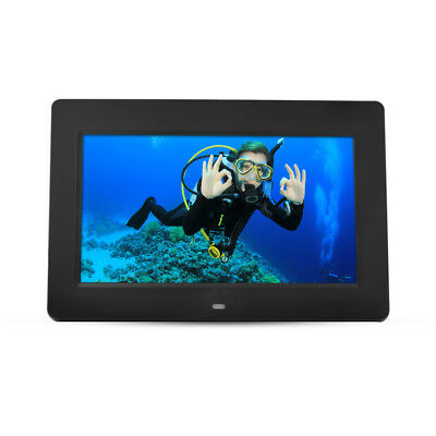 """10.1"""" Multifunctional Digital Photo Frame LED Clock Picture Player Remote HS1051"""