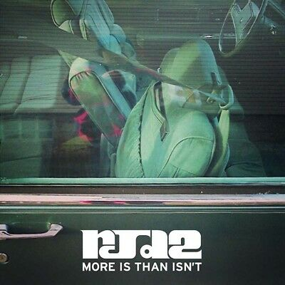 RJD2 - More Is Than Isn't Double Vinyl LP & Download 2013 Hip Hop New & Sealed
