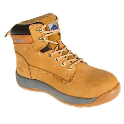 Portwest Steelite Constructo Nubuck Work Boot Steel Cap Leather Safety Boots