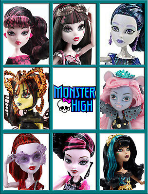 ** MONSTER HIGH ** CHOOSE FROM NEW SCARIS, BOO YORK & BLACK CARPET DOLLS ** -mh3