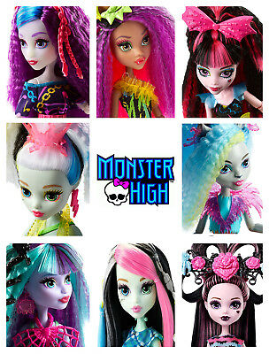 ** MONSTER HIGH **  CHOOSE FROM NEW Electrified Hair & other DOLLS  **  -mh4