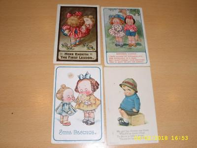 Cute Children - Artist Drawn Vintage Postcards