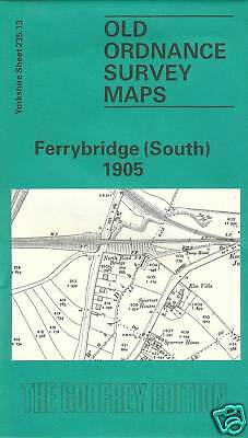 Old Ordnance Survey Map Ferrybridge (South) 1905