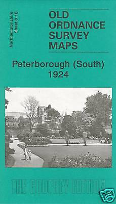 Old Ordnance Survey Map Peterborough South 1924