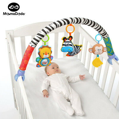 Baby Bed Around Bumper Bar Crib Cot Stroller Accessories For Infant Music Baby