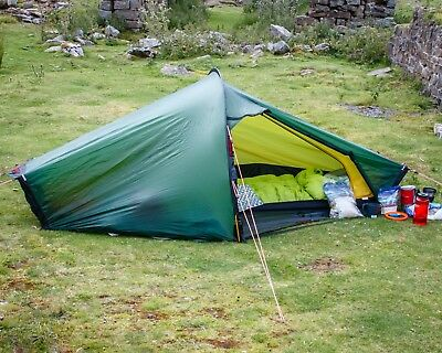 hilleberg akto green with footprint excellent condition. & HILLEBERG AKTO green with footprint excellent condition. - £350.00 ...