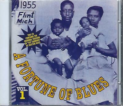Various  A FORTUNE OF BLUES VOL. 1  New Sealed Blues CD  25 tracks