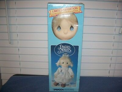 "Precious Moments Doll Kit Limited 1st Edition Susie 18"" Paragon  Needlework"