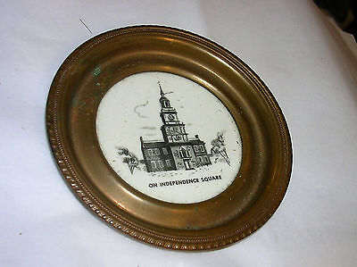 Vintage miniatue advertising tray/Booth, Potter, Seal and Co insurance