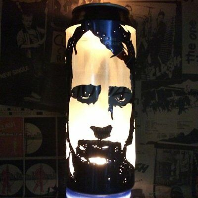 Mark Knopfler 'Dire Straits' Beer Can Lantern! Pop Art Candle Lamp, Unique Gift