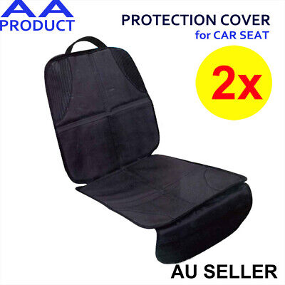 2x Auto Car Baby Kid Children Booster Seat Protector Mat Cover Cushion Anti-Slip
