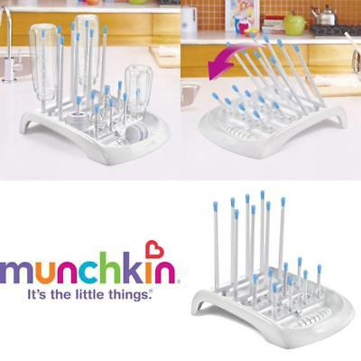 Bottle Drying Rack Ideal for Bottles Teats Cups Pump Parts and Accessories White