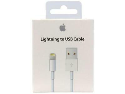 OEM Lightning to USB Charger Data Cable Cord for Apple iPhone 3ft/1m SEALED lot