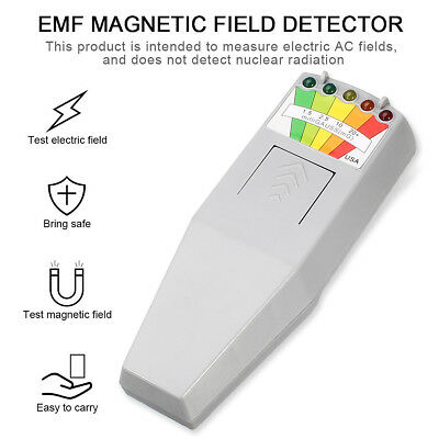 EMF Meter Magnetic LED Light Field Detector Ghost Hunting Paranormal Equipment