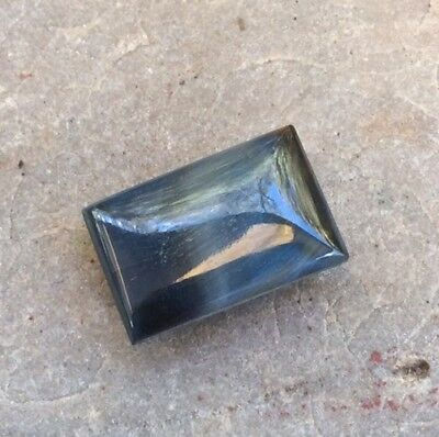 1 PC SQUARE CUT SHAPE BLUE TIGERS EYE 15x10MM CABOCHON LOOSE GEMSTONE