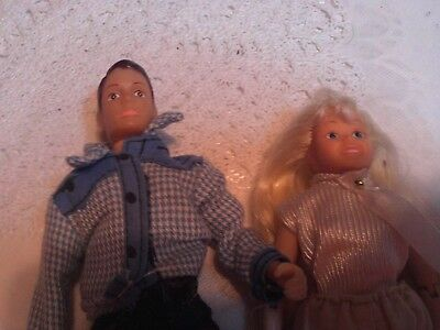~Breyer Man & Woman Poseable Horse Riders....14.99...6 - 7 Inches.