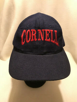 THE GAME CORNELL University Big Red Snapback Hat NWT -  7.95  3fdee46e4941
