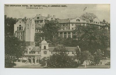 Postcard Bronxville Ny Gramatan Hotel On Sunset Hill In Lawrence Park A