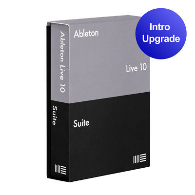 Ableton Live 10 Suite Upgrade License From Live 10 Intro DAW Music Software