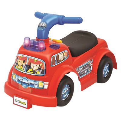 Fisher Price Little Fire Truck Ride-On