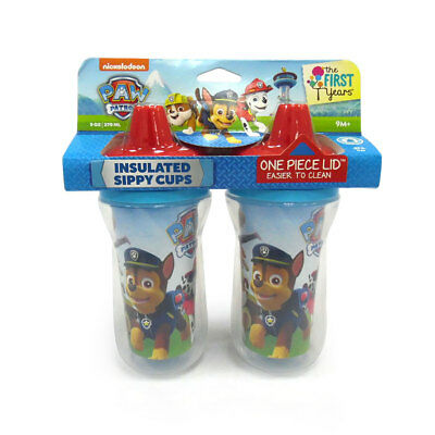 Paw Patrol Insulated Sippy Cup 2 Pack