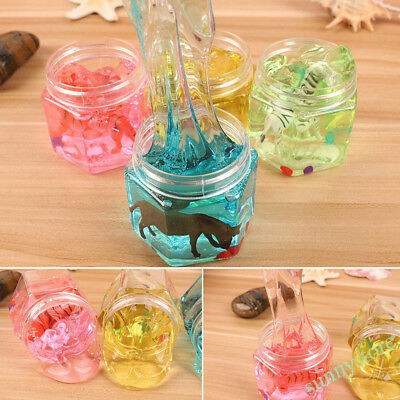 Colorful Crystal Clay Creative Animal Putty Jelly Slime Child Educational Toys