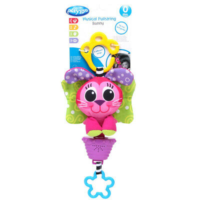 Playgro Musical Pullstring Bunny